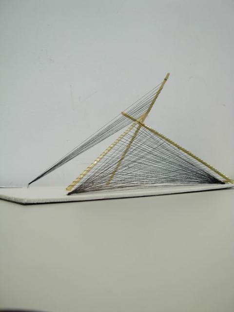 立体构成作品是《三维设计基础》课程四级